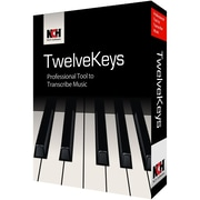 TwelveKeys Music Transcription Assistant for Windows (1-User) [Download]