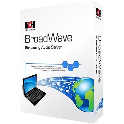 BroadWave Streaming Audio Server for Windows (1-User) [Download]