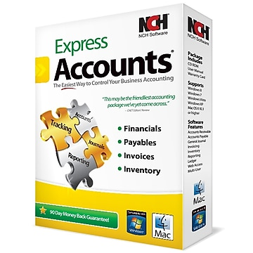 NCH Software Express Accounts for Windows (1-User) [Download]