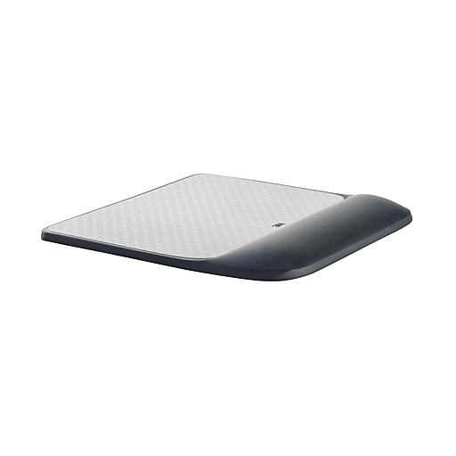 3M Mouse Pad with Gel Wrist Rest, Optical Mouse Performance, Battery Saving  Design, Gel Comfort, Black (MW85B)