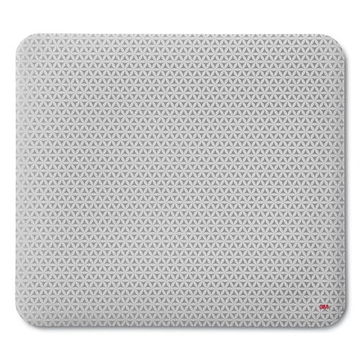 "3M™ Precise™ Mouse Pad with Non-skid Foam Back, Enhances Optical Mouse Performance, Battery Saving Design, 9"" x 8"", Bitmap"