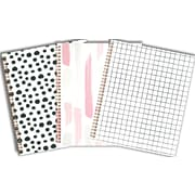 "Emma Verde Coil Notebook, 10-1/2"" x 8-5/8"", 140 Pages, Assorted (07006)"