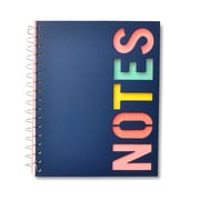 "Gartner Studios Diecut Multicolour Spiral Notebook, 6-1/2"" x 8"""