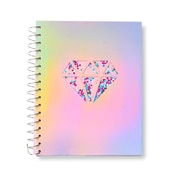 Holographic Confetti Shaker Jr. Notebook