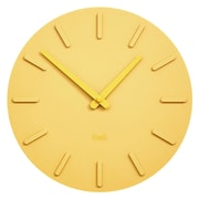 Kvell Pop Clock, Cheerful Yellow