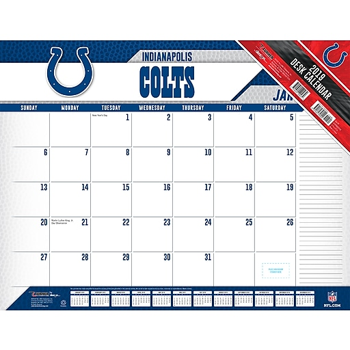 Colts Calendar 2019 2019 Turner 22