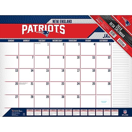 Patriots Calendar 2019 2019 Turner 22