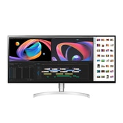 LG – Moniteur IPS ACL à DEL 34WK95U-W anti-reflets 34 po avec technologie AMD FreeSync, 5120 x 2160, 1200:1, 60Hz, 5ms