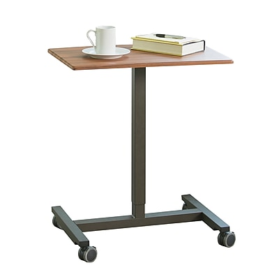 AIRLIFT Pneumatic Laptop Computer Sit-Stand Mobile Desk Cart Height-Adjustable from 29.3