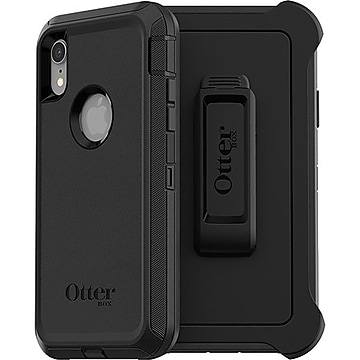 OtterBox Defender Series Screenless Edition Black Rugged Case for iPhone XR (77-59801)