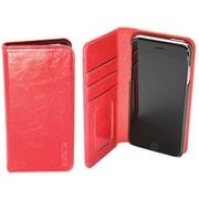 Roots 73 - Étui Folio 2-en-1 pour iPhone 6/6S/7/8, rouge