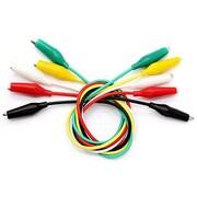 Digiwave – Câble survolteur d'essai, 1 x 1 x 10 (po), multicolore, paq./5