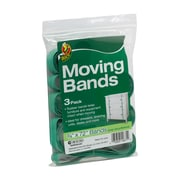 "Duck Brand Inner Circumference Moving Band, Green, 0.75"" x 72"", 3/Pack"