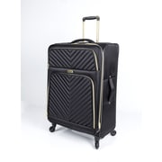 Rosetti Black Diamond Twill Luggages, Black