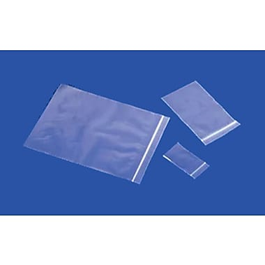 2-Mil Reclosable Polyethylene Bags, Sample Pack, 1,000/Case