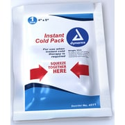 """Dynarex 4511 Instant Cold Ice Packs, , 5"""" x 9"""", 24/Pack"""