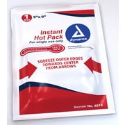 Dynarex 4516 Instant Hot Packs, 24/Pack
