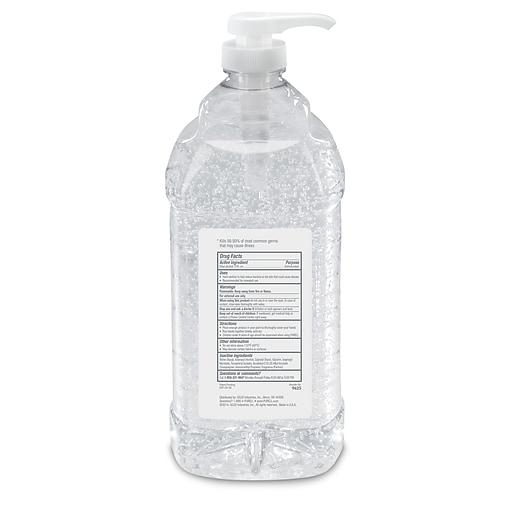 PURELL® Advanced Hand Sanitizer Refreshing Gel for Workplaces, Clean Scent,  2 Liter Pump Bottle (9625-04)