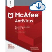 McAfee® AntiVirus 2018 Software, 1 User, Windows (MAB00ENR1RAA)