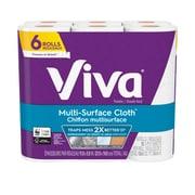 Viva Multi-Surface Cloth, Value Roll, Choose-A-Sheet, 6 Rolls/Pack