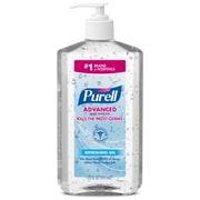 PURELL® Advanced Hand Sanitizer Refreshing Gel for Workplaces, Clean scent, 20 fl oz Pump Bottle (3023-12)