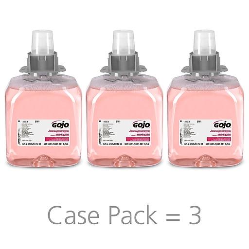 GOJO® FMX-12™ Luxury Foam Handwash, Cranberry Scent, 1250mL Foam Soap  Refill for FMX-12™ Push-Style Dispenser 3/CT (5161-03)
