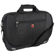 "Swiss Polyester 17.3"" Computer Bag, Black"