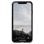 Nomad Rugged Leather Case For Use With iPhone XS Max, Black