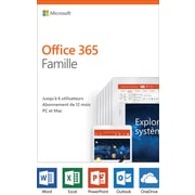 Microsoft Office 365 Home, 1-Year, French