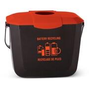 Globe – Bac de collecte de 2 gallons pour piles