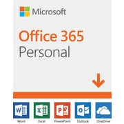 Microsoft Office 365 Personal, 1 PC or Mac + 1 Tablet, 1-Year Subscription, Bilingual [Download]