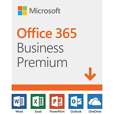 Microsoft Office 365 Business Premium 1 Year Subscription Download
