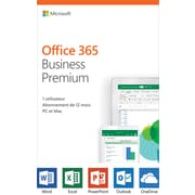 Microsoft Office 365 Business Premium 1-Year, 1-User, French