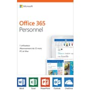 Microsoft Office 365 Personal, 1-Year, French