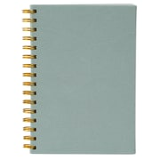 Merangue A5 Coiled PU Notebook, Ruled, 100 Sheets, Teal