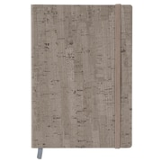 Merangue A5 Soft Cover PU Notebook, Ruled, 100 Sheets, Brown