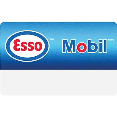 Carte-cadeau Esso et Mobil