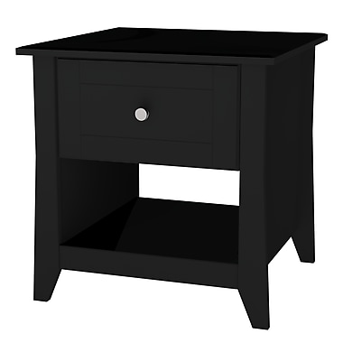 Nexera - Table d'appoint Tuxedo, noir