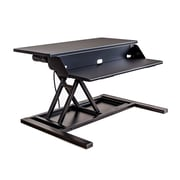 Luxor Electric Level Up Pro 32 Standing Desk Converter (LVLUP EPRO32-BK)