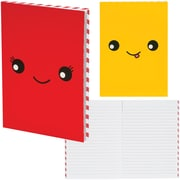 "Staples 6"" x 8"" Face Novelty Notebook"