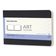 Moleskine – Album de croquis de la collection Art, format de poche, uni, couverture souple, noir