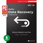 Stellar Data Recovery Software Windows Professional [Download]
