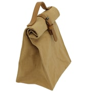 Cathay Importers Eco-Friendly Reusable Brown Paper Lunch Bag