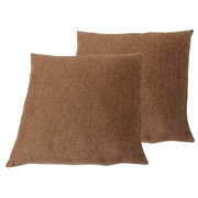 Cathay Importers Copper Linen Toss Cushions, 2/Pack