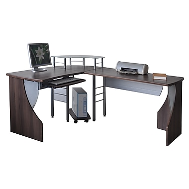 Star Computer Desk and CPU Stand