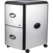 "Storex Metal-clad Mobile Filing Cabinet, 19"" x 15"" x 23"""