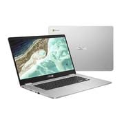 Asus – Portatif Chromebook C523NA-DH02 15,6 po, Intel Celeron bicoeur N3350 à 1,1 GHz, eMMC 32 Go, LPDDR4 4 Go, Chrome