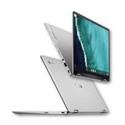 Asus – Chromebook transformable Flip C434TA-DSM4T 14 po, IntelCore m3-8100Y 1,1 GHz, eMMC 64 Go, LPDDR3 1867MHz 4 Go, Chrome
