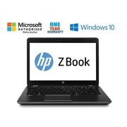 HP - Poste de travail ZBOOK 14 G2 remis à neuf, 14 po, 2,2 GHz Intel Core i5 5200u, DD 56 Go, DDR3 8 Go, Windows 10 Pro