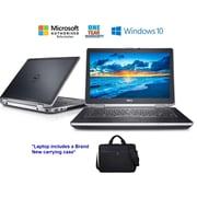 DELL Refurbished LATITUDE E6420 14-inch Notebook, 2.4 GHz Intel Core i7 2760QM, 240 GB SSD, 8 GB DDR3, Windows 10 Professional